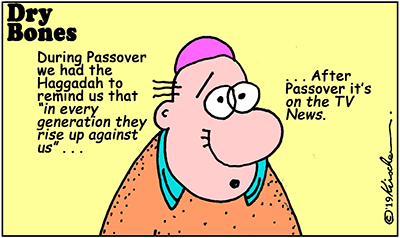 Haggadah,antisemitism, media, NY Times, Terror, pogrom, San Diego, cartoons,