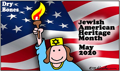 Dry Bones cartoon,Jewish American Heritage Month,holiday,America,Jews, Jewish,