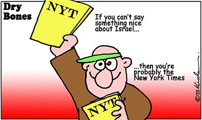 Dry Bones cartoon,COVID19, coronavirus, Israel, IDF, NYTimes,