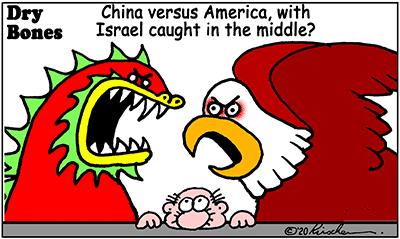 Dry Bones cartoon,Israel, China,America,
