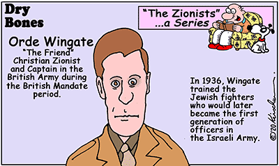 Dry Bones cartoon,Christian, IDF,Israel,Zionists, Zionism, Wingate, series,