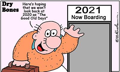Dry Bones cartoon, Holiday, New Year, Shuldig,2020, 2021,