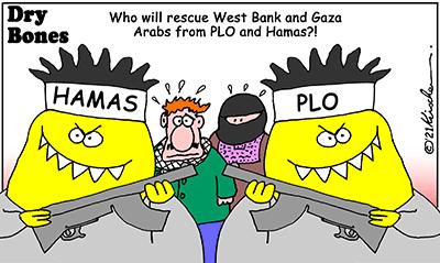 Dry Bones cartoon, Gaza, Hamas ,Plo ,Arabs ,Israel, Peace, Middle East,