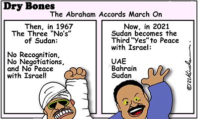 Israel, Sudan, Peace, Abraham Accords, UAE, Bahrain,=