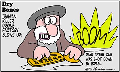 Dry Bones cartoon,donate,drones, Drone Wars, Iran, Israel, IDF,