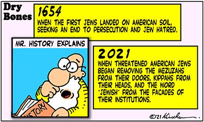 Dry Bones cartoon,donate,jewishandproud, America, antisemitism,