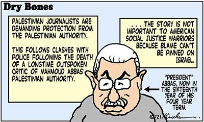 Dry Bones cartoon,donate,Palestinian Authority, PLO, Abbas,Palestinians,