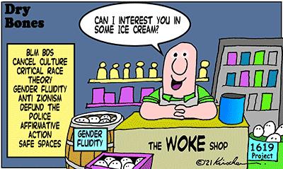Dry Bones cartoon,donate,woke, BLM, BDS, AntiZionist,Israel, America, woke,