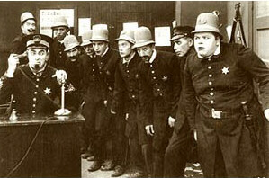 the Keystone Cops